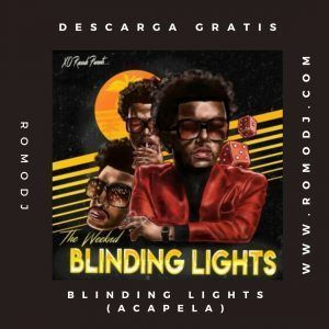 Blinding Lights[ACAPELLA]-The Weeknd